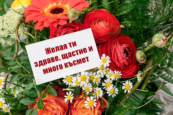 Картички за рожден ден: желая ти здраве, щастие и много късмет